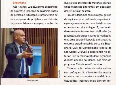 Entrevista Revista Painel - Associação de Engenharia, Arquitetura e Agronomia de Ribeirão Preto (AEAARP) - Engenheiro Líder