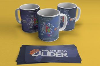 Itens personalizados, Caneca  - Engenheiro Líder